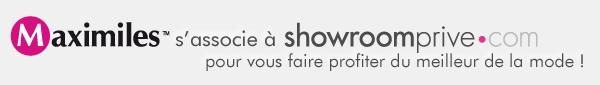 Maximiles s'associe à Showroomprive.com pour vous faire profiter du meilleur de la mode !